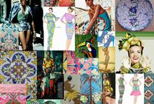 SS15 Inspiration / Inspiration  for the SS15 comes from Tropical Jungle, Birds and Flowers.  The woman of Ekaterina Kukhareva goes on a Hawaiian Retreat with the poolside long kaftans, evening gowns, and day dresses for sightseeing. There is also a small shoe collection and a swimwear range.