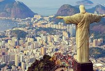 Christ the Redeemer, Rio de Janeiro  / Christ the Redeemer is one depicting Jesus Christ monument, located in the Alto da Boa Vista neighborhood in the city of Rio de Janeiro, State of Rio de Janeiro, Brazil. Sits on top of the Corcovado Mountain, 709 meters above sea level.