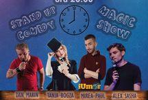 Stand-Up Comedy & Magic Show - Terasa Casa Berarului