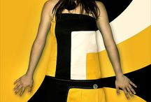 Color :: Black ▪ White ▪ Yellow / by Vanessa Martins