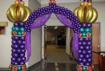 balloon arches and columns / by Lynette Bell