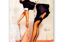 Pin Up / Classic pinups and poses / by Elizabeth Reed