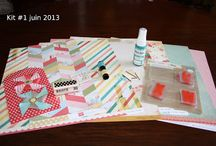 kit du mois juin #1 / kit du mois juin 2013