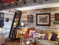 Shed / garage conversion / Space that have been transformed from shed / garage spaces to cool living spaces