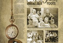 Family photo page ideas
