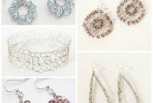 Wire crochet jewelry / by Josanne McAfee