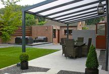 Terraza,patio,quincho.