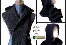 hooded crochet