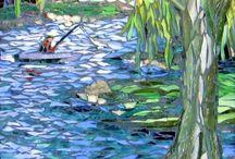 mosaique rivière