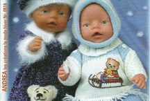 Dolls and dollclothes