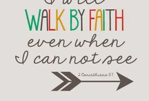 Walk by FAITH / Faith