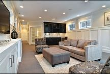 Basement ideas / by Ashley Shaner