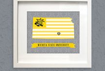 Wichita State Shockers / by Shannon Lacey