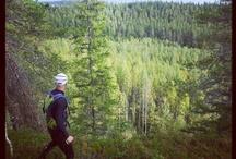Trail run, Finland