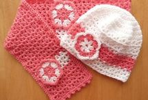 Hat and Scarf Set / Crochet Pattern