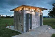 Publick Out Door Toilet