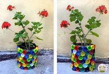 Plastic recycled ideas