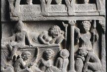 Gandhara le sommeil des femmes - préparation au grand départ - la grande renonciation / Gandhara le sommeil des femmes - préparation au grand départ - la grande renonciation (abhiniskramana)