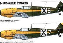 Bf-109 Bulgaria
