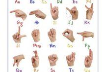 alfabeto con le mani