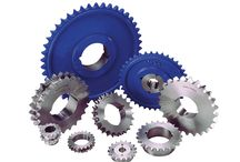 Power Transmission Products / We stock a complete range of power transmission products that includes taper lock sprockets, taper lock pulleys, taper lock bushes, bearings, transmission chains, and vee belts
