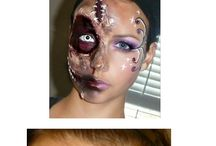 Halloweenmake-up