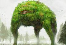 illustration Creature