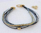 beaded  stacking bracelet