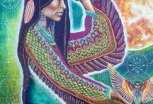 Shamanism art