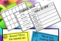 Math - Subtraction / Subtraction strategies, resources, and ideas for teachers to help students learn subtraction.