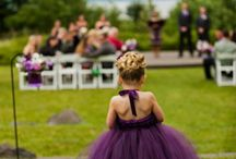 wedding dresses for guests and bridesmaids and flowergirls