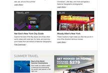 Travel related marketing