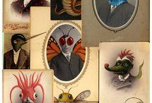 Anthromorphic / Animal based