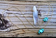Raychhs || Rocks / Handmade jewelry with Arkansas quartz crystals