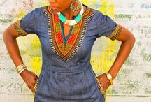 African prints mixed