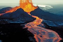 Volcans en éruption