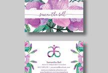 Arbonne business card