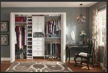 Closet organizing  / by Heather Carroll