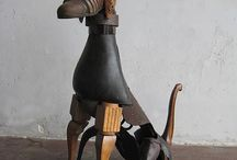 Sculpture & Ready made / Rzeźby
