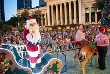 Christmas in Brisbane / Experience the festive season in beautiful Brisbane.