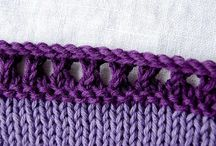 Knitted Edges / by Leah Michelle Designs