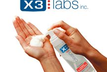 X3 Clean Foaming Hand Sanitizer and X3 On-the-go / X3 Clean - Hand washing isn't always possible, so X3 Clean Foaming Hand Sanitizers ensure clean hands when soap and water aren't available. Alcohol-free. www.farleyco.ca/X3/Products.html  / by Farleyco Canada