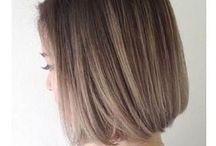 hair *