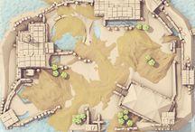 Maps and progression / Map styles I like.