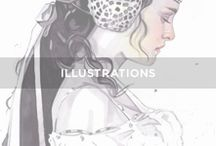 // I L L U S T R A T I O N / Inspirations d'illustrations