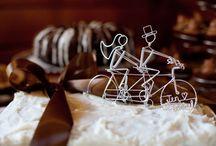 Ca change des figurines / #epingler #wedding #caketopper  #mariage #original