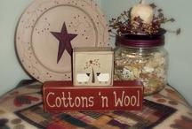 Wool applique / by Diane L