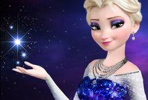 Ambiance Reine des neiges