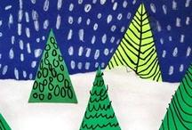 ART IDEAS FOR MY CLASS / art experiences
