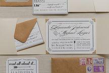 Partecipazioni, inviti e carta da lettere